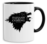 Saiyans are Coming - Tasse Kaffeetasse Son Ruffy Luffy Naruto Saitama One Dragon Master Goku Ball Vegeta Roshi Piece Db