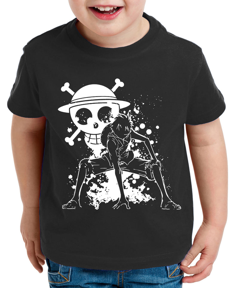 Ruffy Angry Zorro One Manga Kinder T-Shirt Anime Piece