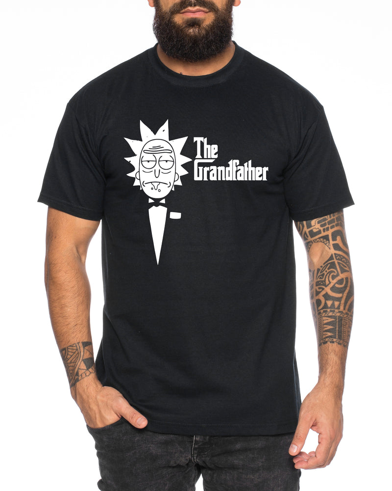 Rick Pate The Grandfather Herren T-Shirt Morty dan Sanchez Mr Rick Meeseeks Harmon
