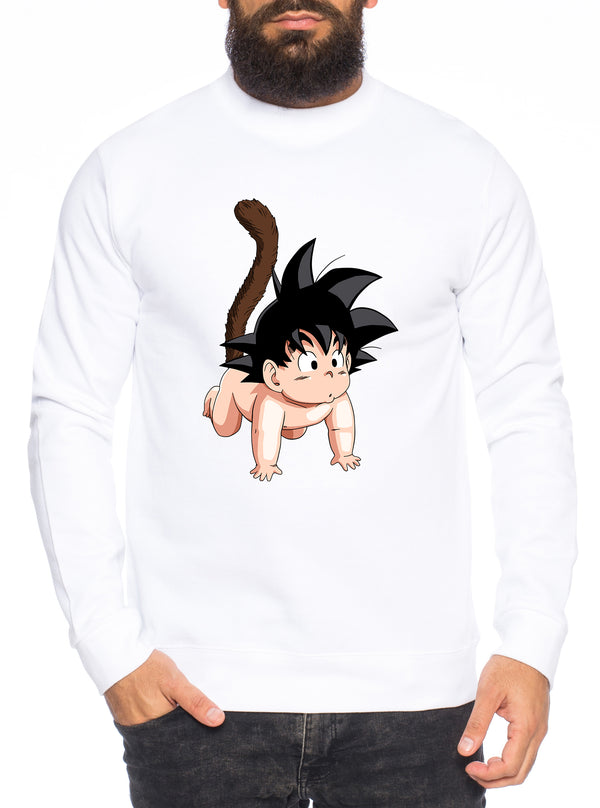 Son Baby Herren Sweatshirt Son Dragon Master Ball Vegeta Turtle Roshi Db
