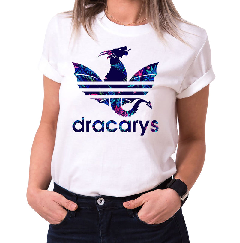 Dracarys Celia - T-Shirt Damen Targaryen  thrones game of stark lannister baratheon Daenerys khaleesi tv blu-ray dvd