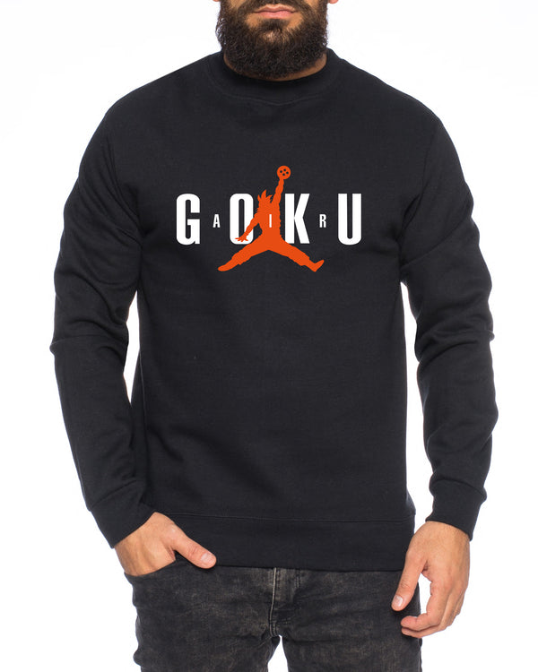 Air Goku Herren Sweatshirt Son Dragon Master Ball Vegeta Turtle Roshi Db