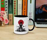 Red Sun Goku Back - Tasse Kaffeetasse Son Ruffy Luffy Naruto Saitama One Dragon Master Goku Ball Vegeta Roshi Piece Db