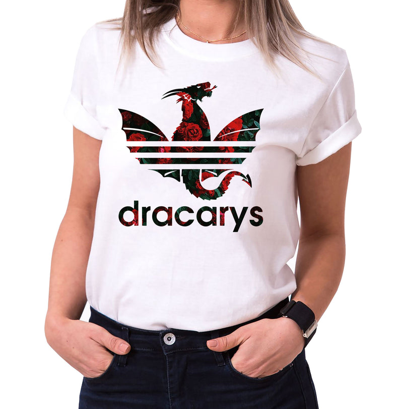 Dracarys Rosana - T-Shirt Damen Targaryen  thrones game of stark lannister baratheon Daenerys khaleesi tv blu-ray dvd
