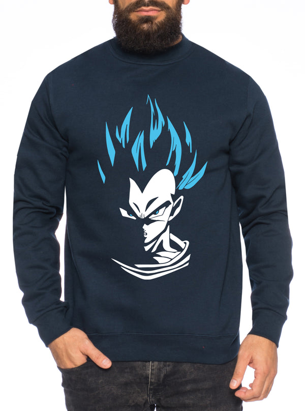 SV Goku Herren Sweatshirt Son Dragon Master Ball Vegeta Turtle Roshi Db