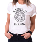 Mother of Dragons II - T-Shirt Damen Targaryen  thrones game of stark lannister baratheon Daenerys khaleesi tv blu-ray dvd