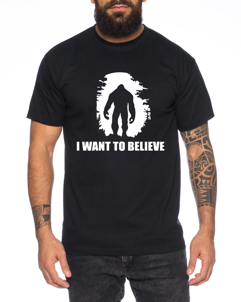 Big Foot I want believe Herren T-Shirt