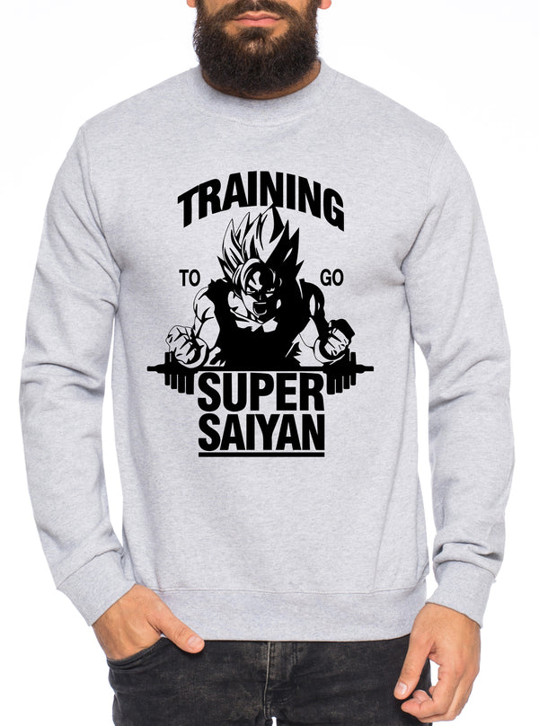 Goku SS Herren Sweatshirt Son Dragon Master Ball Vegeta Turtle Roshi Db
