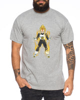 Dragon Vegeta Ball Son Goku Roshi DBZ Kult Fun Manga Anime Herren T-Shirt
