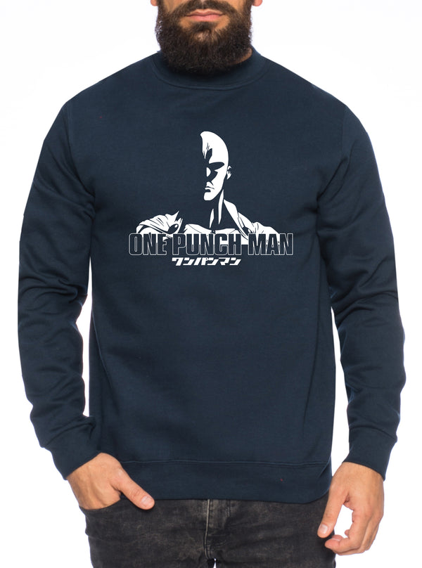 OPM Saitama Herren Sweatshirt Punch one anime manga