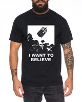 I Believe Doctor UK Herren T-Shirt