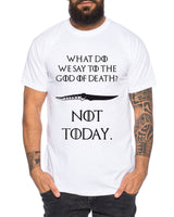 Not Today III - Herren T-Shirt Targaryen  thrones game of stark lannister baratheon Daenerys khaleesi tv blu-ray dvd
