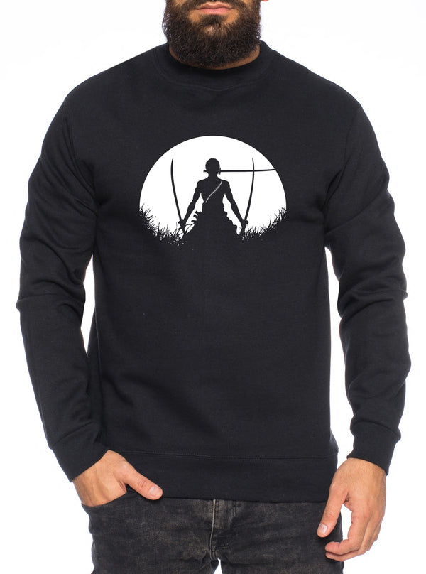 Sun Rise Zorro One Manga Herren Sweatshirt Ruffy Anime Piece