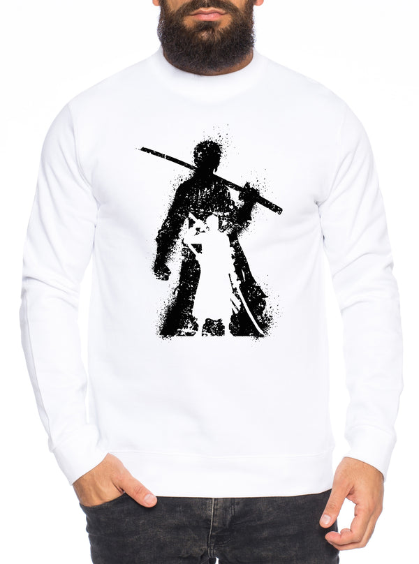 Zorro Bruch One Manga Herren Sweatshirt Ruffy Anime Piece