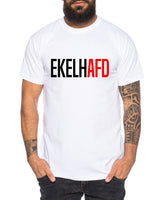 EKELHAFD Herren T-Shirt Cooles lustiges Fun-Shirt