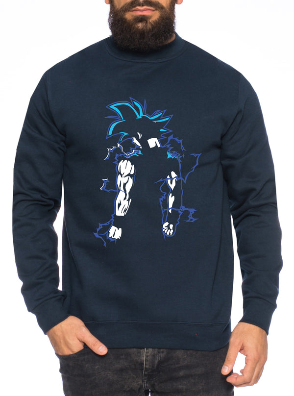 Goba Herren Sweatshirt Son Dragon Master Ball Vegeta Turtle Roshi Db