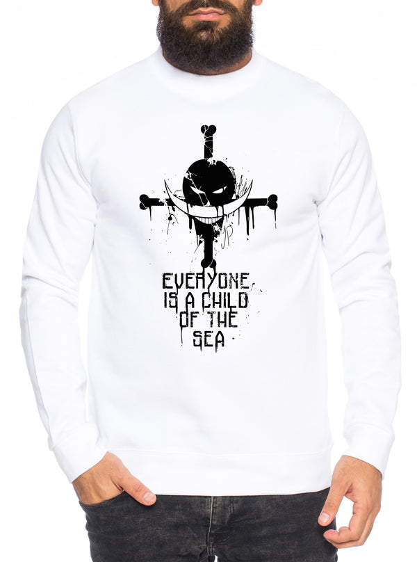 Sea Zorro One Manga Herren Sweatshirt Ruffy Anime Piece