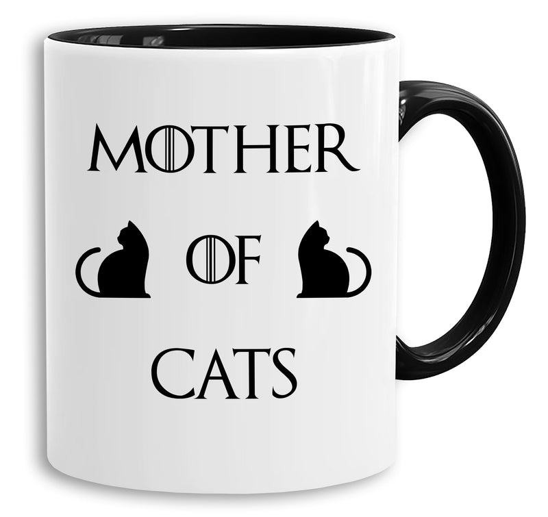Mother of Cats - Tasse Kaffeetasse Targaryen  thrones game of stark lannister baratheon Daenerys khaleesi tv blu-ray dvd