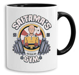 Saitama Gym - Tasse Kaffeetasse Son One Punch Luffy Naruto Saitama One Dragon Goku Ball Piece Man Db