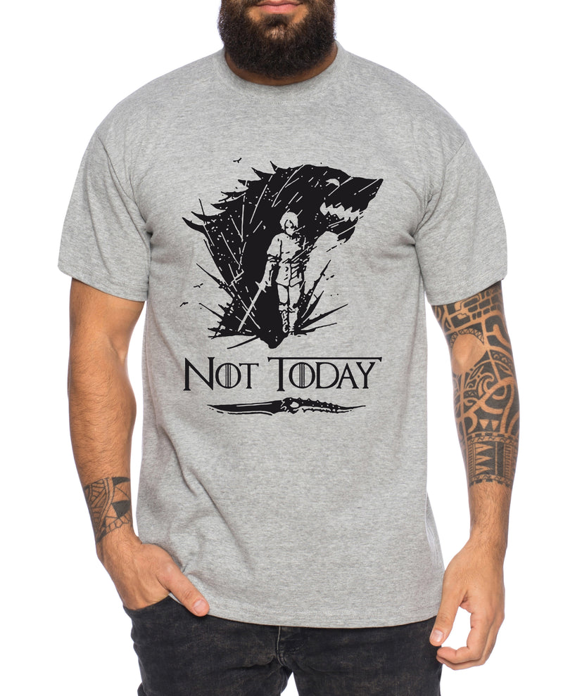Not Today II - Herren T-Shirt Targaryen  thrones game of stark lannister baratheon Daenerys khaleesi tv blu-ray dvd