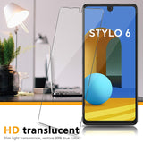 For LG Stylo 6 HD Premium 2.5D Round Edge Tempered Glass Screen Protector