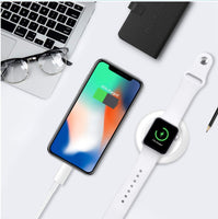PowerHouse 2-in-1 iPhone & Apple Watch Charging