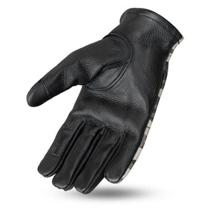 2-Toned Roper Ladies Leather Gloves-FS