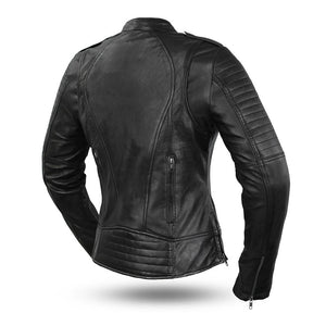 Biker - Women's Leather Motorcycle Jacket