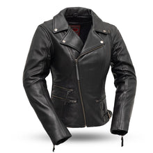 Load image into Gallery viewer, Monte Carlo Women's Classic Leather Jacket