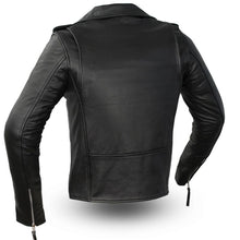 Load image into Gallery viewer, Rockstar - Women's Motorcycle Leather Jacket