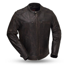 Load image into Gallery viewer, Hipster - Men's Motorcycle Leather Jacket-FS
