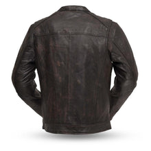 Load image into Gallery viewer, Hipster - Men's Motorcycle Leather Jacket