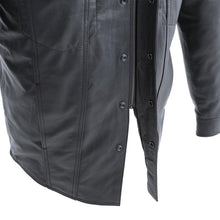 Load image into Gallery viewer, Vigilante - Men's Leather Shirt