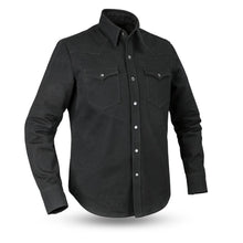 Load image into Gallery viewer, Forsyth - Men's Canvas Motorcycle Shirt
