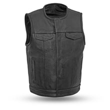 Load image into Gallery viewer, Highside - Men's Motorcycle Leather Vest