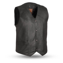 Load image into Gallery viewer, Texan - Men's Leather Motorcycle Vest
