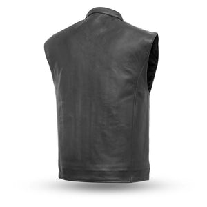 The Club House - Men's Motorcycle Leather Vest