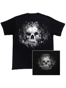 First Manufacturing Co: Shirts - Grave Skull Reflective T-Shirt