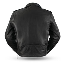 Load image into Gallery viewer, The Superstar - Men's Motorcycle Leather Jacket