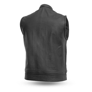 Blaster - Men's Motorcycle Leather Vest