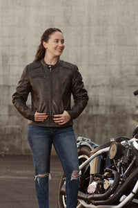 The Trickster - Women's Motorcycle Leather Jacket