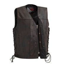 Load image into Gallery viewer, High Roller - Men's Leather Motorcycle Vest