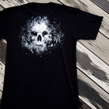 Load image into Gallery viewer, Grave Skull Reflective T-Shirt-FS