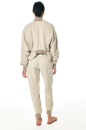 Ozzy Pocketed Jogger - Taupe