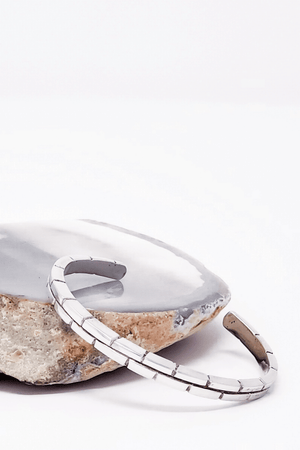 Silver Arch Cuff | Luxe Intuition