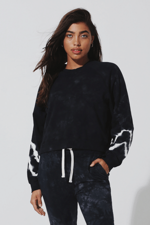 Ronan Pullover - Balloon Sleeve Pullover | Luxe Intuition