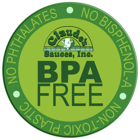 All Claude's Sauces products are BPA free