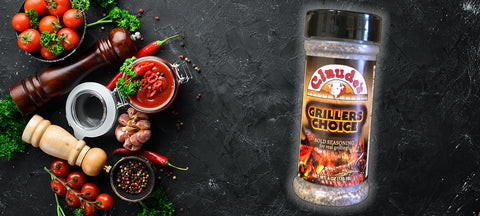 Spices and Claude's Grillers Choice