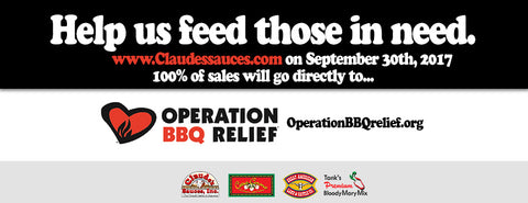 Operation BBQ Relief Donation Drive