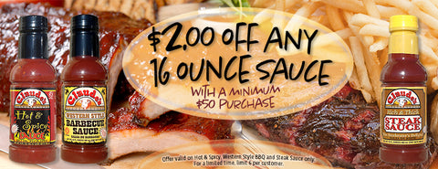 Claude's Sauces 2 Dollar Coupon